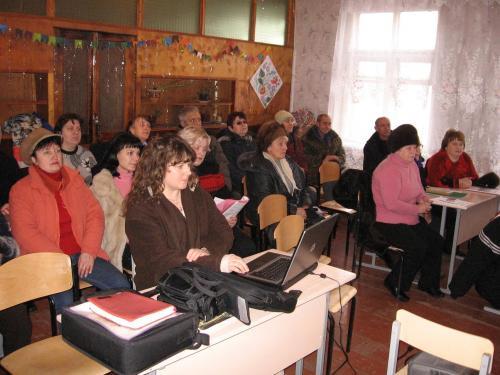Creation Seminar in Novopavlovka
