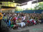 Evening service at Summer Camp